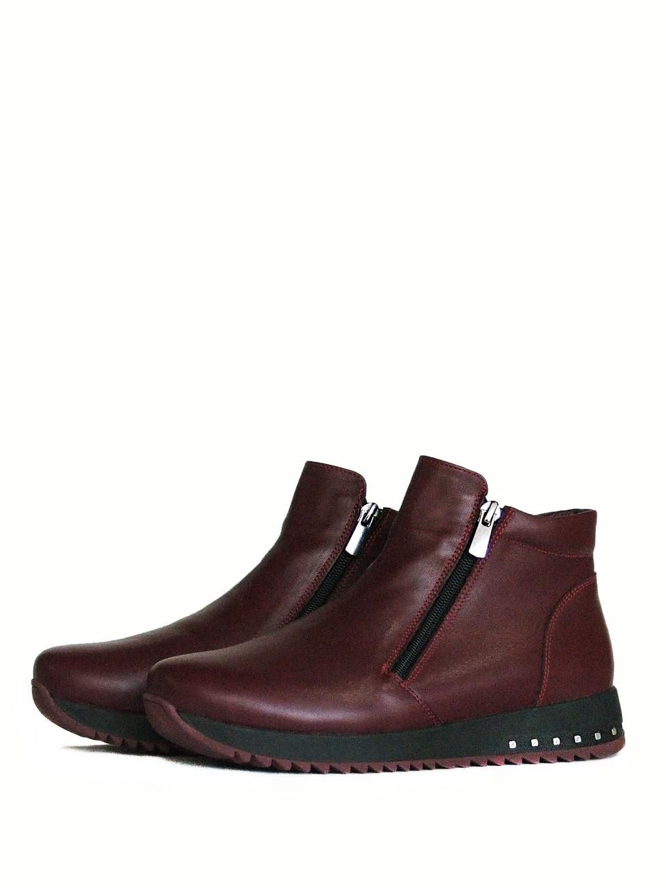 Стильные женские ботинки зима