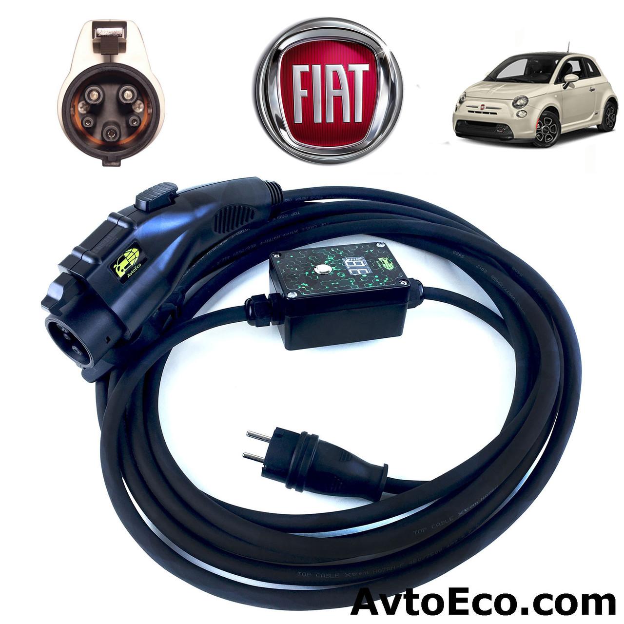 Зарядное устройство для электромобиля Fiat 500e AutoEco J1772 16A BOX