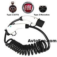 Зарядный кабель для Fiat 500e Type1 (J1772) - Type 2 (32A - 5 метров), фото 1