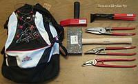 Набор кровельного инструмента в рюкзаке 7предметов