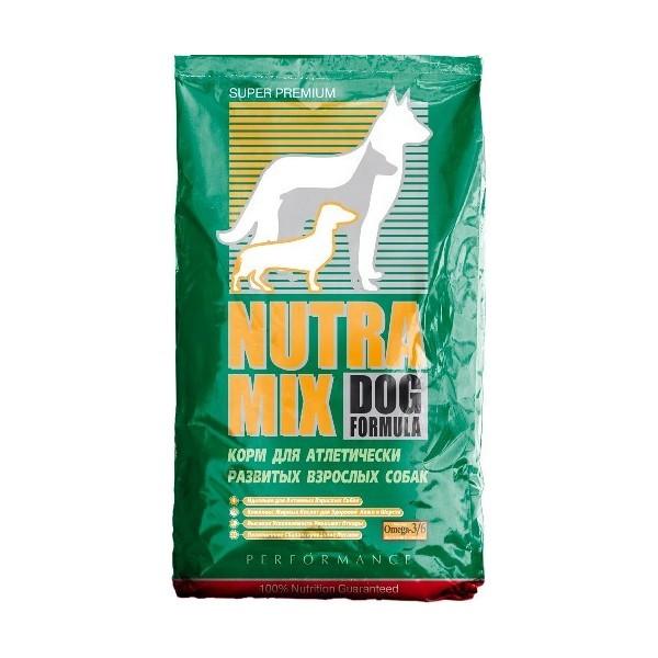 Nutra Mix performance сухой корм для атлетически развитых взрослых собак - 3 кг