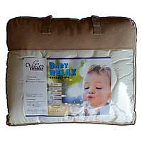 Одеяло детское стеганное силиконовое Vilta Relax 100*140 см, фото 1