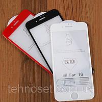 Защитное Стекло Optima 5D for iPhone 7/8 Black