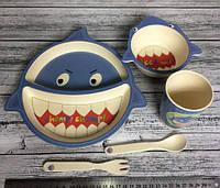 Большой эко набор детской посуды 5 шт!Акция