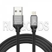 USB Кабель INCORE Elastic Line Micro USB Quick Cable черный