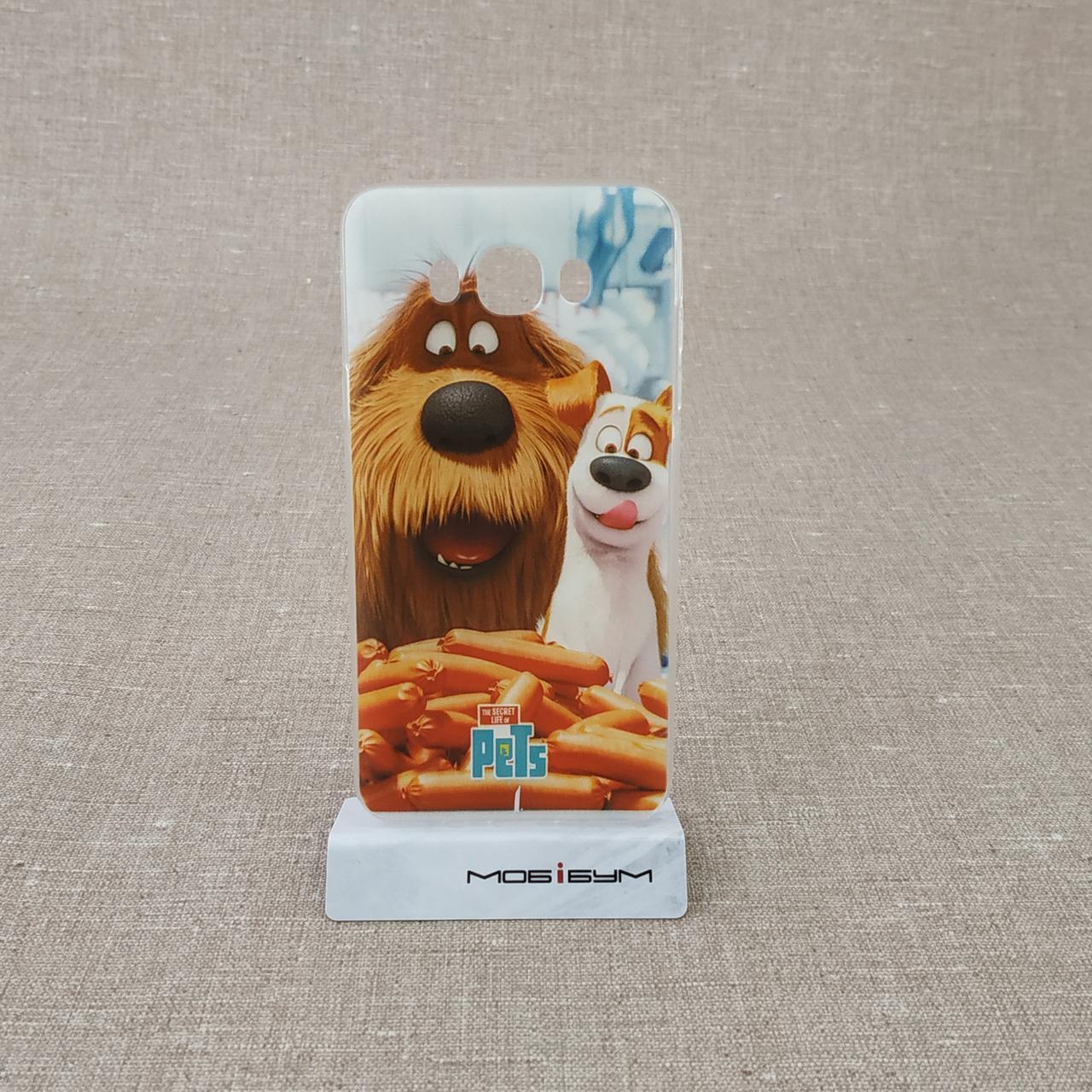 Чехол TPU foto Samsung Galaxy J7 J710