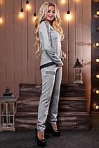 Женский ангоровый костюм с нашивками (2487-2488-2489 svt), фото 3