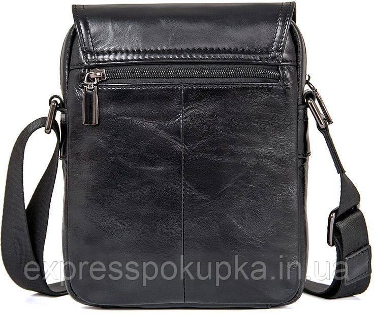 ef5aafcbdeec Сумка мужская Vintage 14470 кожаная Черная, Черный: продажа, цена в ...