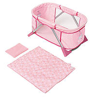 Переносная кроватка манеж Travel Bed для куклы Baby Born Zapf Creation 794982