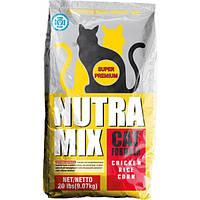 Nutra Mix  maintenance сухой корм для взрослых, умеренно активных и пассивных кошек - 22,7 кг
