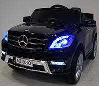 Детский электромобиль Мерседес МЛ 350 Mercedes ML 350 черный, M 3568 EBLR-2, колеса EVA, (разные цвета)