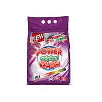 Стиральный порошок Original Color 3 кг Power Wash HIM-80274