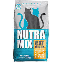 Nutra Mix optimal сухой корм для кошек - 9,07 кг
