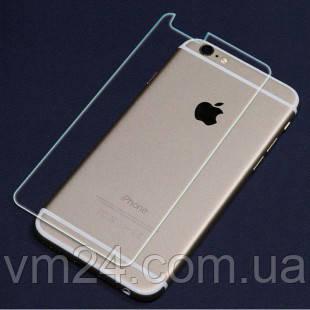 Защитное стекло 0,3мм iPhone 6 plus глянцевый прозрачный зад