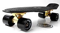 Penny Board Black Logo Золотая подвеска! Гравировка! Гарантия качества Быстрая доставка