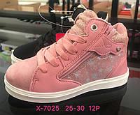Детские демисезонные ботинки для девочек оптом Размеры 25-30
