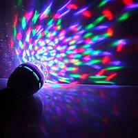 Светодиодная Диско ЛАМПА LED Mini Pаrty Light Lаmp + ПАТРОН!Акция