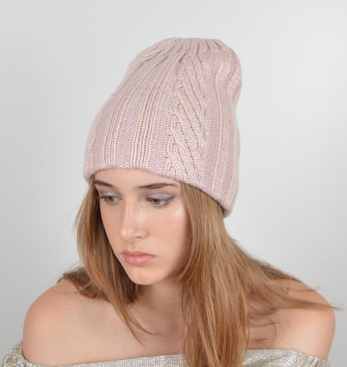 Женская шапка двойная LaVisio