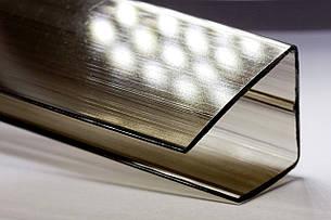 Торцевой профиль Oscar UP 10мм 2100мм бронза
