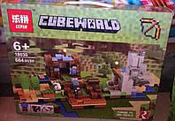 Конструктор Lepin 18030 Майнкрафт Minecraft Хижина на острове или Верстак 2.0 664 дет, фото 1