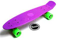 Penny Board Фиолетовый цвет Гравировка Гарантия качества Быстрая доставка