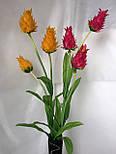 Искусственные цветы, Ветка Ананас 3 бутона, фото 3