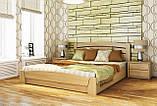 """Двуспальная кровать """"Селена Аури"""" из бука (щит, массив) с подъемным механизмом, фото 2"""