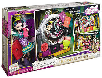Ever After High набор Дорога в Страну чудес Рейвен Квин Way Too Wonderland High and Raven Queen