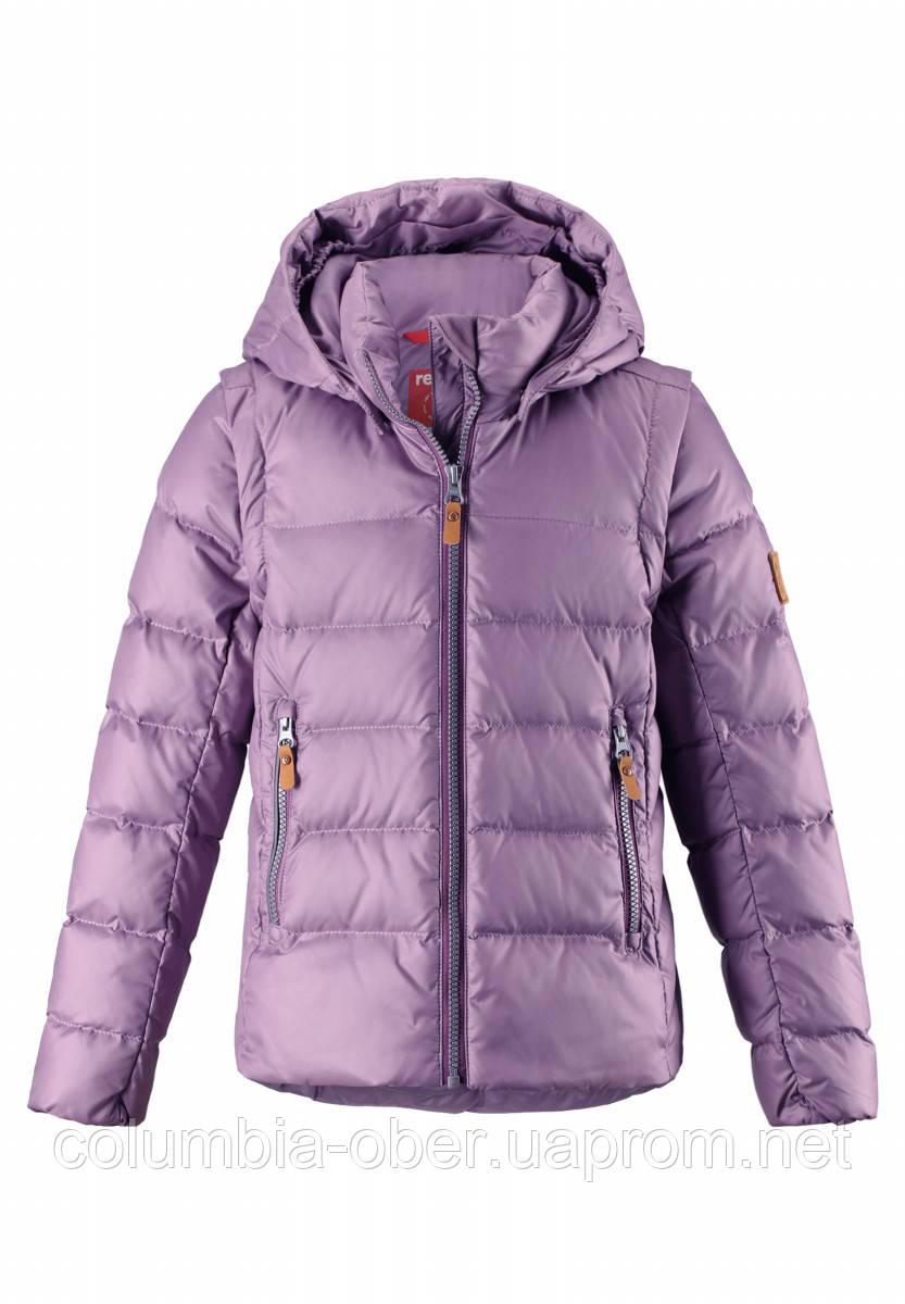 991f88179c2 Зимняя пуховая куртка - жилетка для девочек Reima 531346-5180. Размеры 104- 164.