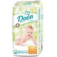 Подгузники Dada Extra Soft Midi 3 (4-9 кг) - 60 шт.