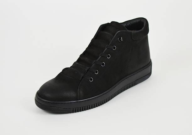 Чоловічі зимові черевики нубук 71102, фото 2