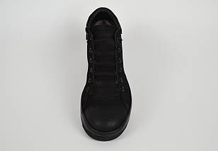 Мужские зимние ботинки нубук 71102, фото 3