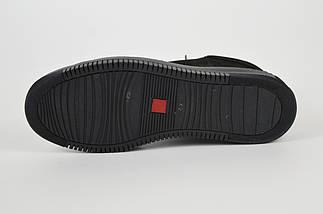 Чоловічі зимові черевики нубук 71102, фото 3