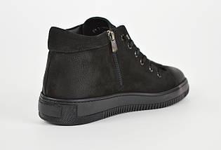 Мужские зимние ботинки нубук 71102, фото 2