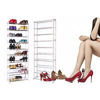 Полки для обуви Amazing Shoe Rack на 10 уровней