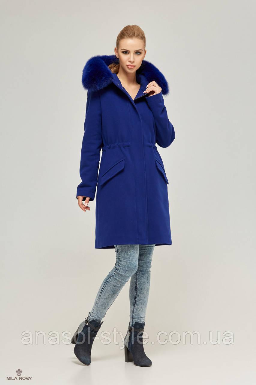 Парка-пальто женская ML электрик