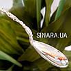 Серебряная чайная ложка  - Серебряная ложка для варенья Узоры - Ложка для джема серебро, фото 6
