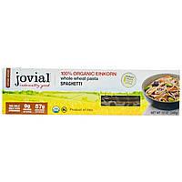 Jovial, Цельнозерновая паста, Спагетти, 12 унций (340 г)