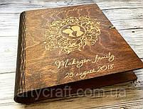 Деревянная обложка для альбома (№2), фото 4