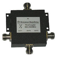 Делитель мощности 800-2700Мгц PicoCoupler 1/3 для усиления мобильной связи