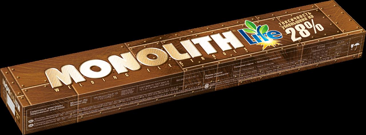 "Электроды Монолит ""MONOLITH"" РЦ Ø 4 мм (упаковка - 2,5 кг)"