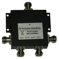 Делитель мощности 800-2700Мгц PicoCoupler 1/4 для усиления мобильной связи