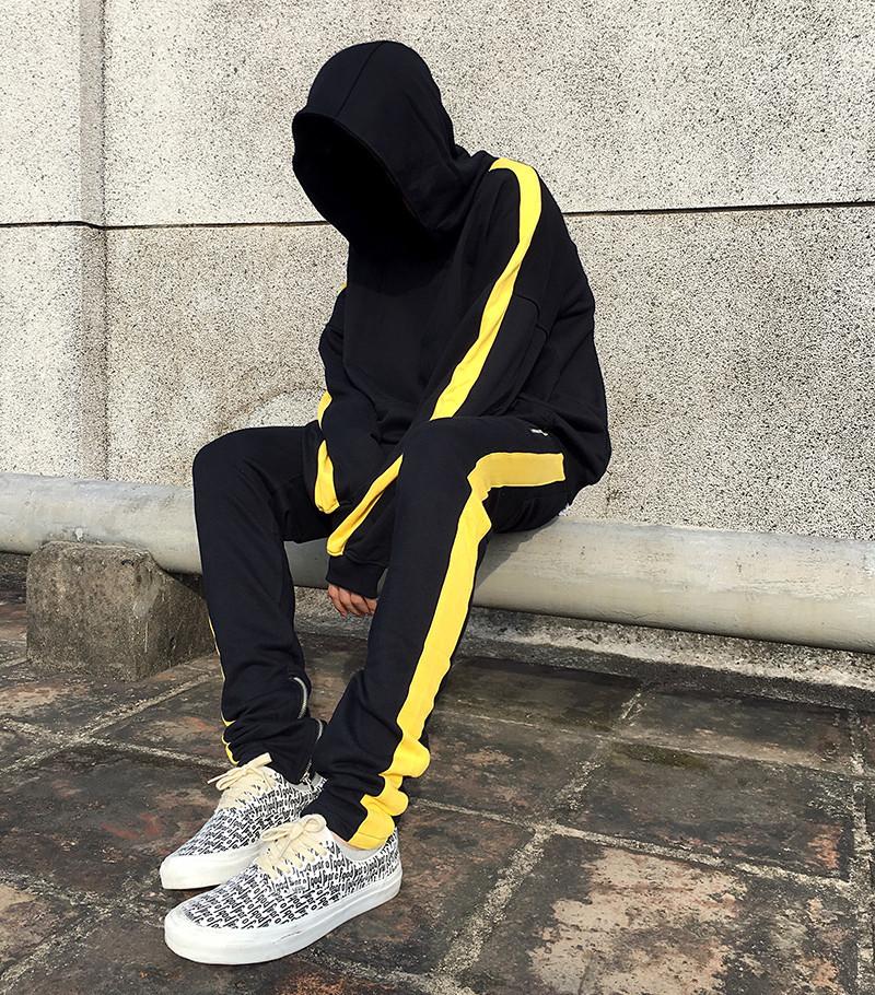 Подростковый спортивный костюм для мальчика с лампасами (двунитка)