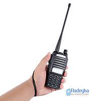 Рация, радиостанция Baofeng UV-82 HP 8 Вт + Гарнитура На 2 Кнопки! Рація  Baofeng UV-82 8 W