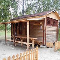 Магазин деревянный