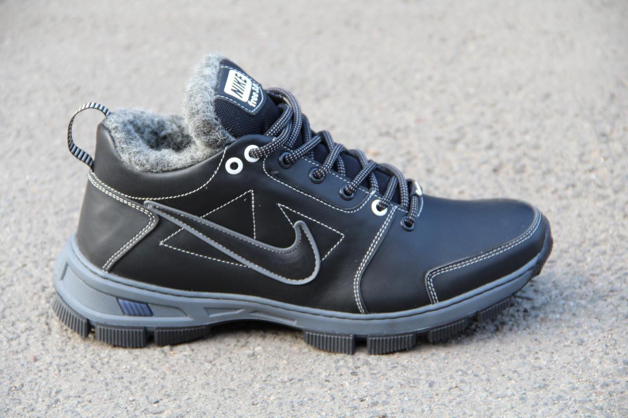 Ботинки мужские зимние из натуральной кожи EGO 05