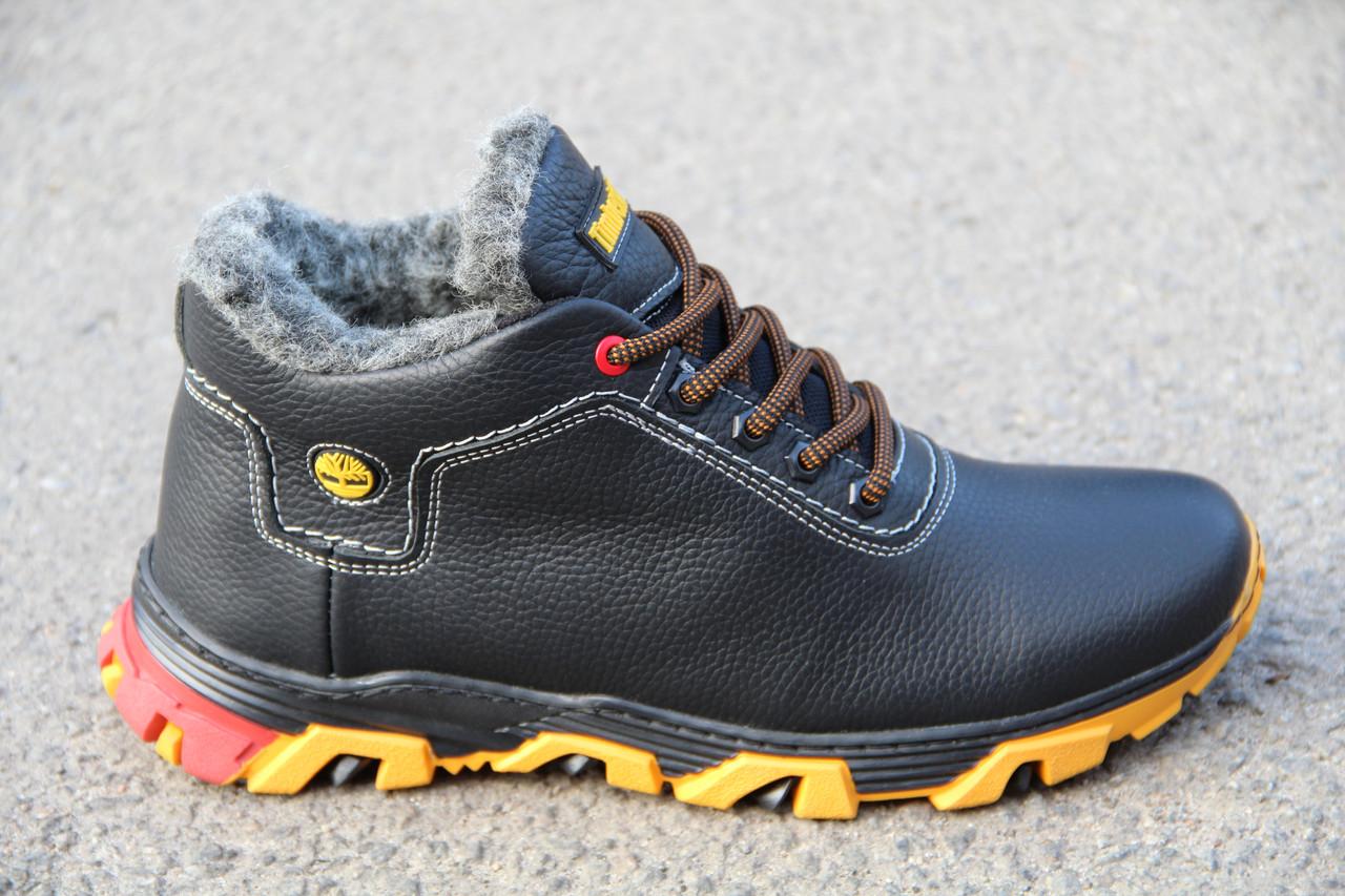 Ботинки мужские зимние из натуральной кожи EGO 06