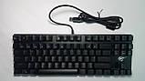 Клавиатура механическая с подсветкой HAVIT HV-KB435L, SKELETON, метал. панель, USB (только EN раскладка), фото 7