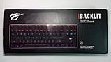 Клавиатура механическая с подсветкой HAVIT HV-KB435L, SKELETON, метал. панель, USB (только EN раскладка), фото 9