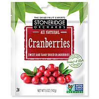 Stoneridge Orchards, Клюква, Сладкая и терпкая сушеная клюква, 5 унций (142 г)